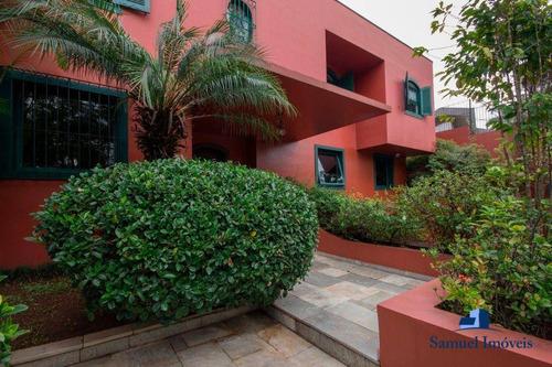 Imagem 1 de 20 de Casa Com 3 Dormitórios À Venda, 533 M² Por R$ 2.200.000,00 - Real Parque - São Paulo/sp - Ca0518