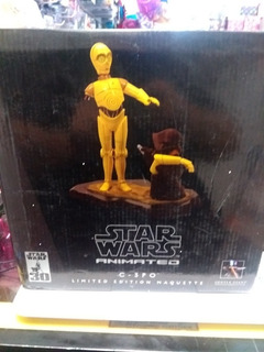 C-3po Star Wars Animated Limited Edition