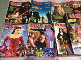 Revista Rock Brigade 1993 Até 2008 Lote C/10 Frete Grátis!!