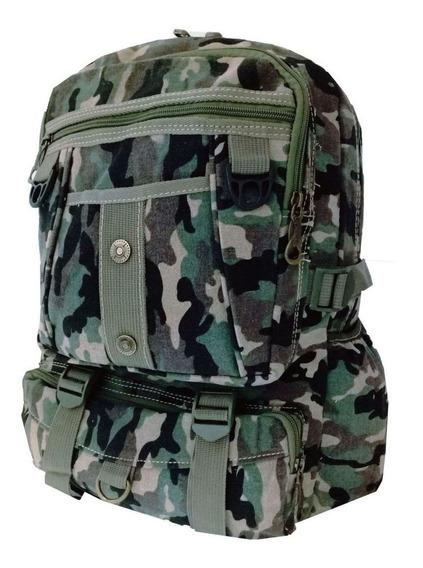 Mochila Camuflada Exercito Tática Militar Reforçada 29l