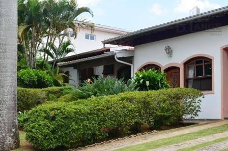 Casa Com 4 Dormitórios À Venda, 560 M² Por R$ 2.500.000 - Condomínio Village Visconde De Itamaracá - Valinhos/sp - Ca8967