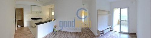 Apartamento Com 3 Dormitórios - 69 M² - Venda E Locação - Alpha Club - Ap0307