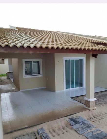 Casa Em Sede, Aquiraz/ce De 83m² 2 Quartos À Venda Por R$ 150.000,00 - Ca301832