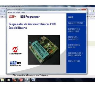 Programador Usb Microcontroladores Quemador Pic Dspic