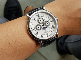 Relógio Invicta Moon Phase 2998 Swiss Movt Calendário Triplo