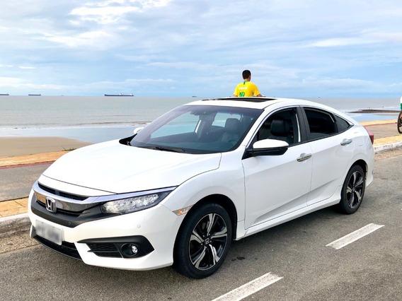 Honda Civic Touring 18/18 - Branco Perolizado
