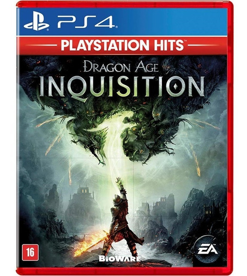 Dragon Age Inquisition Ps4 Midia Fisica Novo Lacrado