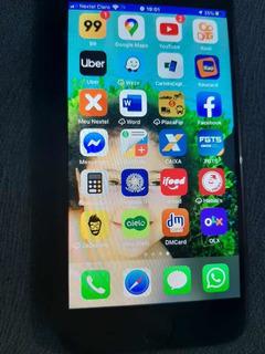 Celular iPhone 7 32 Gb Preto Impecável