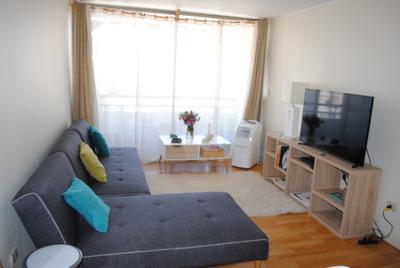 Departamento 3 Dormitorios Y 2 Baños, Santa Isabel, Santiago