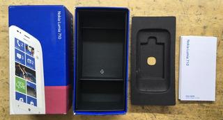Caixa Vazia Celular Nokia Lumia 710