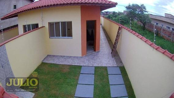 Entrada R$ 32.000,00 + Saldo Super Facilitado, Use Seu Ftgs, Casa Com 2 Dormitórios - Jardim Magalhães - Itanhaém/sp - Ca3293