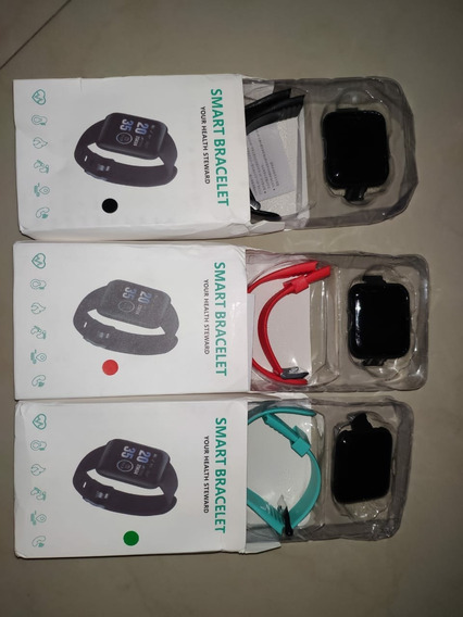 D13 Smart Bracelet Fitness Tracker Monitor De Presión A