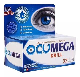 Ocumega Krill Sindrome Del Ojo Seco X 32 Capsulas Blandas