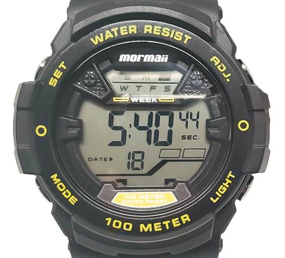 Relógio Masculino Mormaii Mo3500a/8y Nota Fiscal