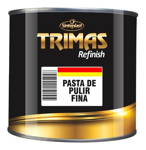 Imagen 1 de 7 de Pasta De Pulir Fina Trimas 1k