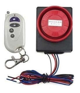 Alarma Para Moto Con Sensor De Movimiento Control Remoto