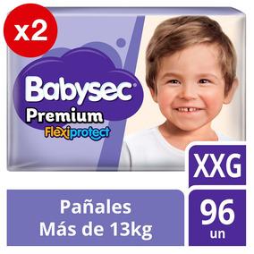 Pañal De Bebe Babysec Premium Pack X2 Talla Xxg Tienda Ofic