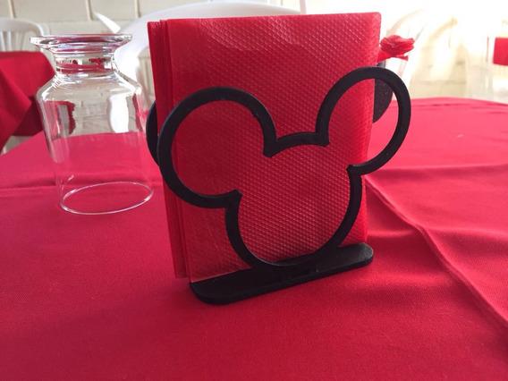 Porta Guardanapo Mickey (20 Conj. Pintados)