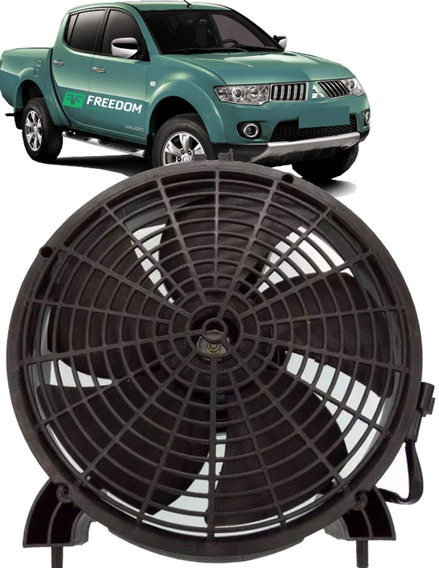 Eletroventilador Ventoinha Condensador L200 Triton Dakar