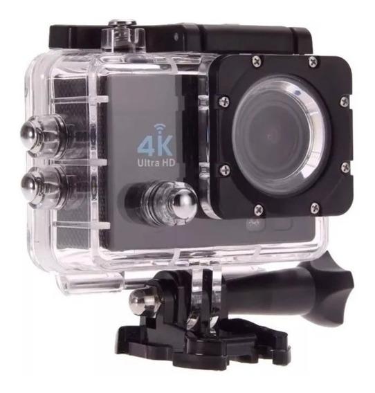 Camera Gocam Action Pro Sport 4k Full Hd, Prova D´água, Wifi