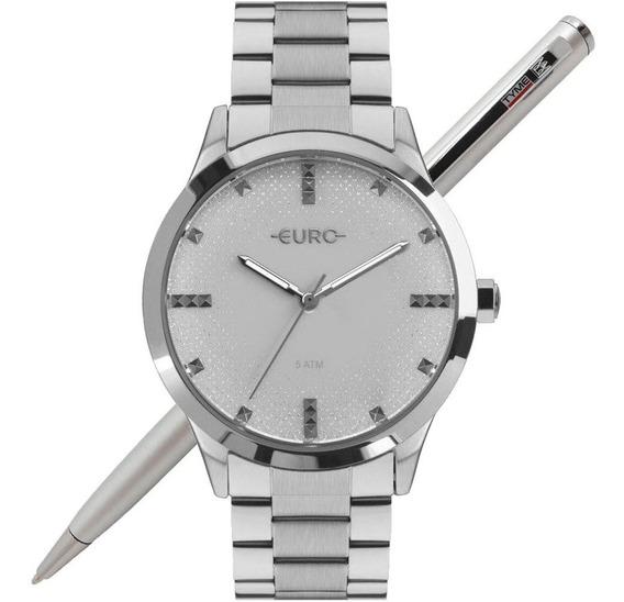 Relógio Euro Feminino Glitter Fever Eu2036yok/3k Nota Fiscal