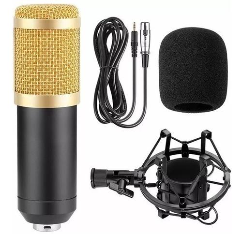 Imagem 1 de 7 de Microfone Estúdio Profissional Condensador Andowl Bm-800 T41