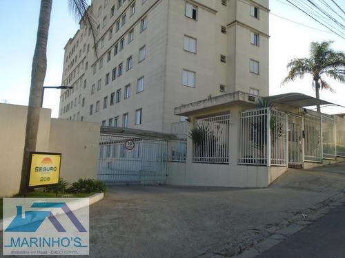 Apartamento Para Venda Em Mauá, Jardim Estrela, 2 Dormitórios, 1 Banheiro, 1 Vaga - 150_1-1410830