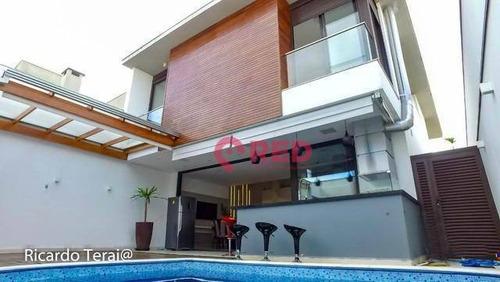 Linda Casa Com 3 Dormitórios À Venda Por R$ 1.495.000 - Condomínio Ibiti Royal Park - Sorocaba/sp - Ca0360