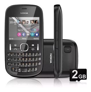 Celular Nokia Asha 201 Mp3 Radio Fm Estado De Novo - Vivo