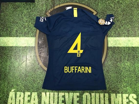 Camiseta Boca Titular 2019 Saf 4 Buffarini