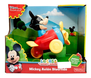 Mickey Mouse Avion Divertido Con Sonidos Fisher Price
