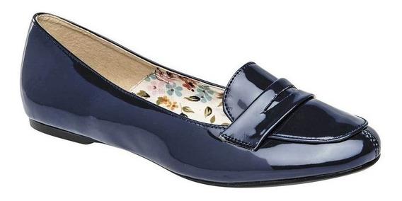 Zapato Casual Dama Gilardi 5714 Marino Charol 22-26 63008 T4