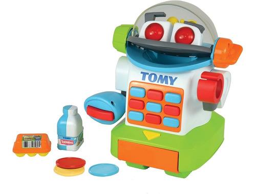 Robot Caja Registradora Mr Shopbot Sonido Tomy 92102 Full