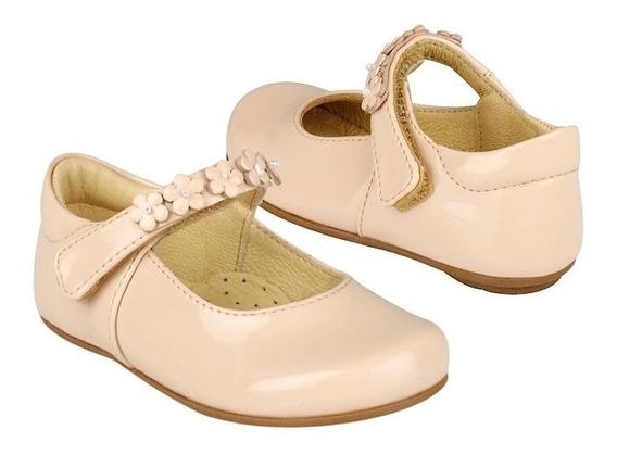 Zapatos Casuales Stylo 31702 12-14 Charol Rosa