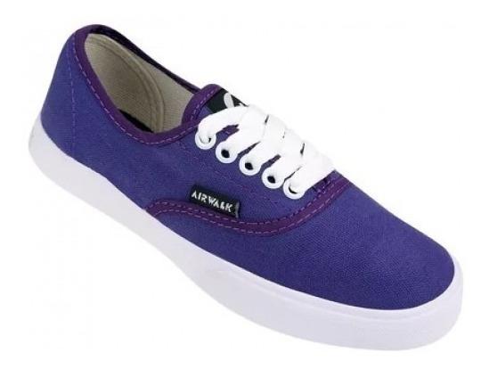 Zapatillas Airwalk Ntl Violeta Liquidación !
