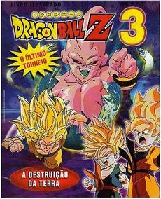 Livro Ilustrado Dragon Ball Z 3 - A Destruição Da Terra