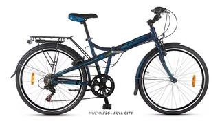 Bicicleta Plegable Aurora Folding Rodado 26 Alumio + Linga