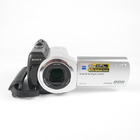 Câmera Semi Profissional Sony Handycam Dcr-sr45 Promoção