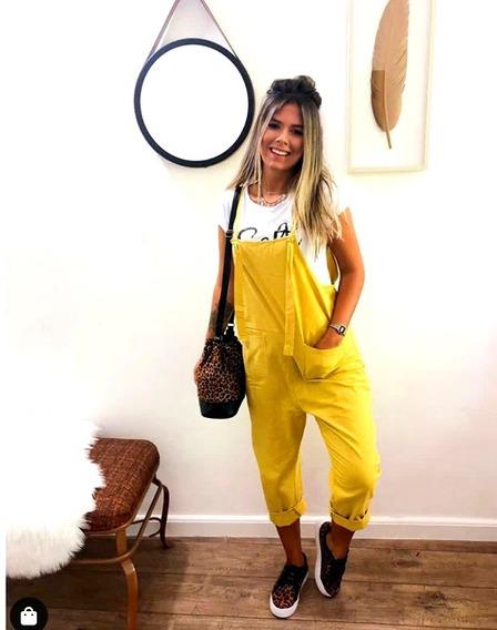 Salopete Jardineira Macaquinho Macacão Feminino Blogueira