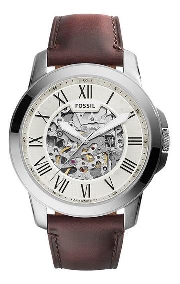 Relógio Fossil Masculino Automatico Me3099/0bn Esqueleto