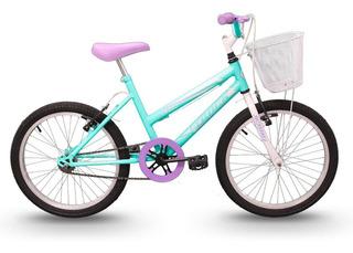 Bicicleta Track Cindy Juvenil Aro 20