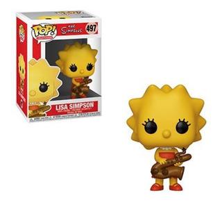 Funko Pop - The Simpsons: Lisa Simpsons #497 - Nuevo -