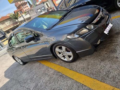 New Civic Lxs Ano 2008-1.8 Flex Doct.ok Automático Blindado.