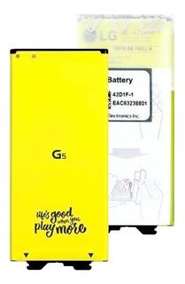 Batería Lg G5 Original Bl-42d1f - 6 Meses Garantia Escrita + Cable Tipo C De Regalo - Selladas De Lg - 2 Sucursales