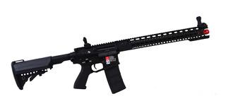 Rifle Airsoft G&p M4 Auto Eletric Gun 076 - Preto