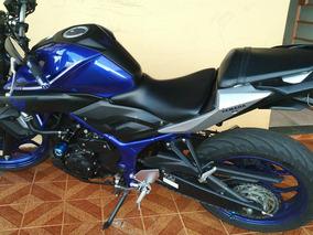 Yamaha Mt-03 2018 Azul Impecável