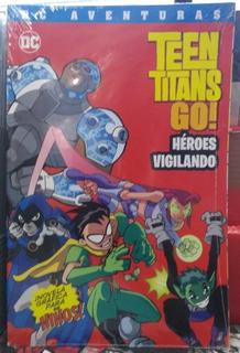 Cómic Teen Titans Go! Héroes Vigilando