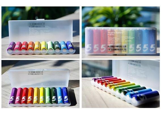Pilha Xiaomi Rainbow Original Tamanho Palito Alcalina (aaa)