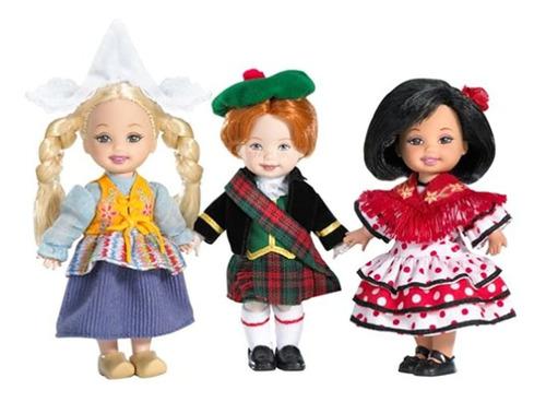Set De Regalo Kelly Dolls Y Friends Of The World Dolls