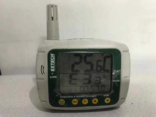 Datalogger De Humedad Y Temperatura Extech 42280 Leer Descri